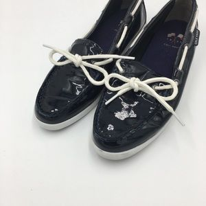 Cole Haan Nantucket Navy Patent Loafers 6.5